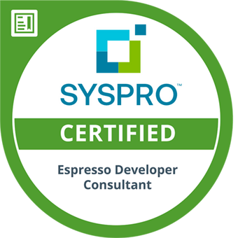 SYSPRO-ERP-software-system-Espresso-Developer-Consultant